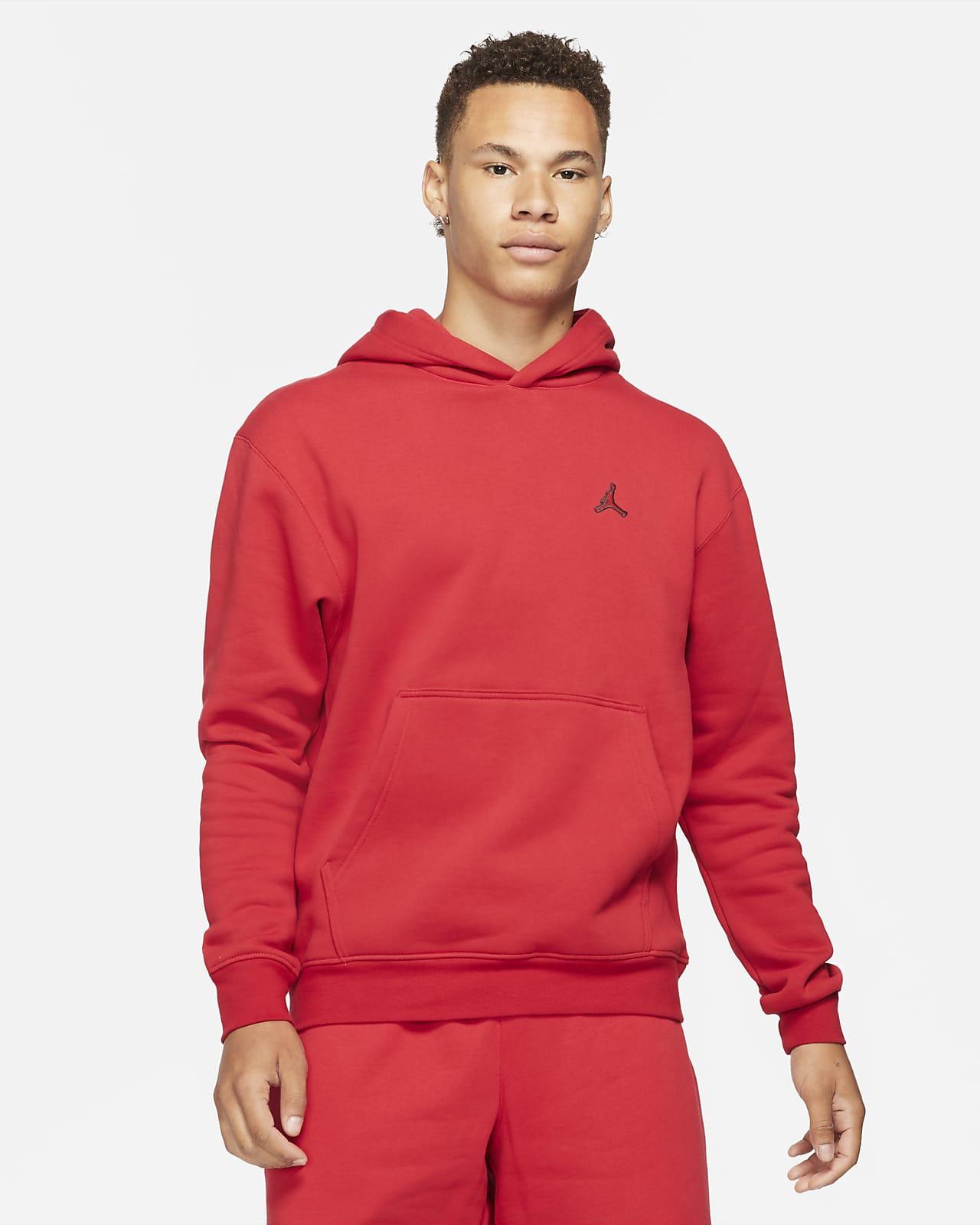 Sweat à capuche en tissu Fleece Jordan Essentials pour Homme