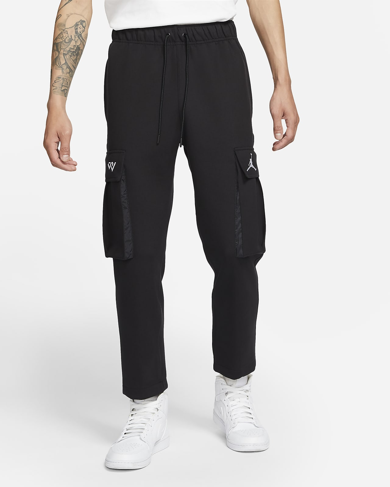Jordan Why Not 男子针织工装长裤
