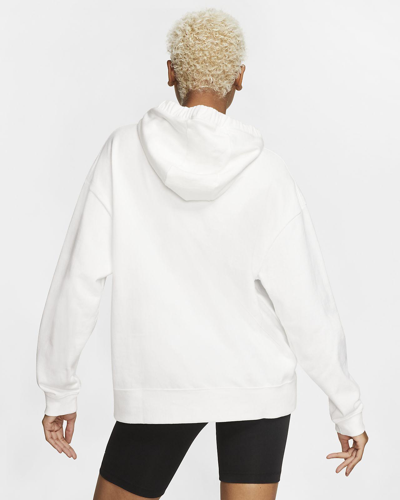 nike swoosh hoodie women's