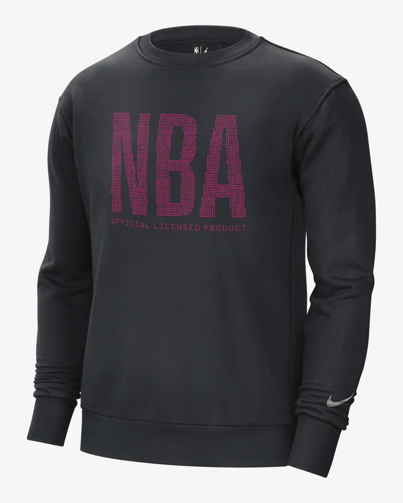 Team 31 Essential Nike NBA Fleece Crew Sweatshirt für Herren