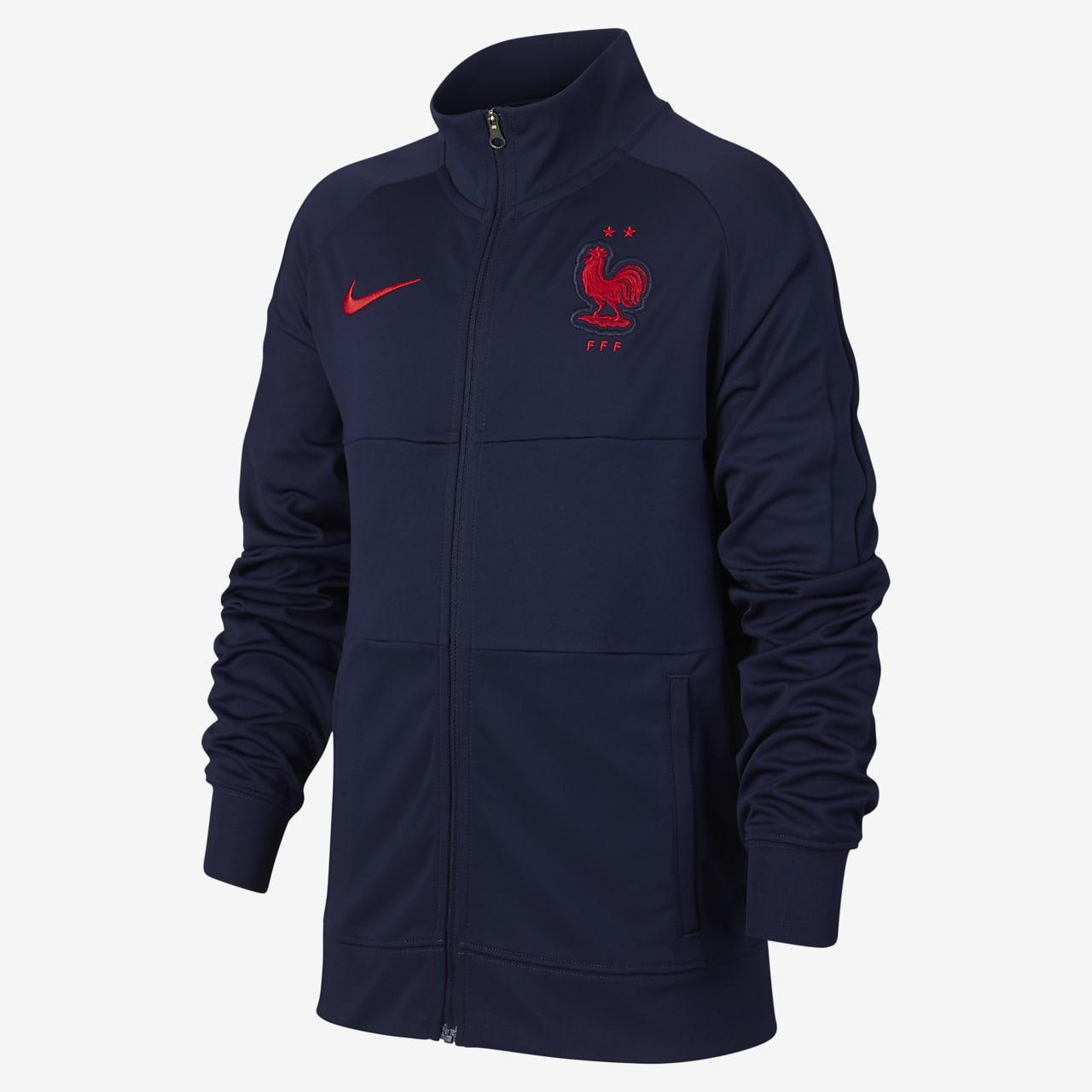 Frankreich Fußballjacke für ältere Kinder