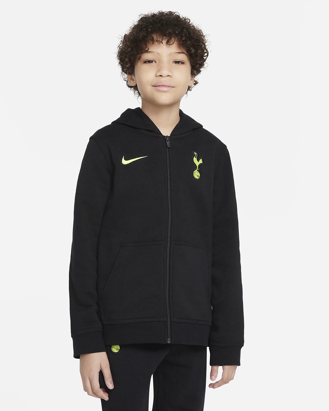 Tottenham Hotspur Older Kids' Full-Zip Fleece Hoodie