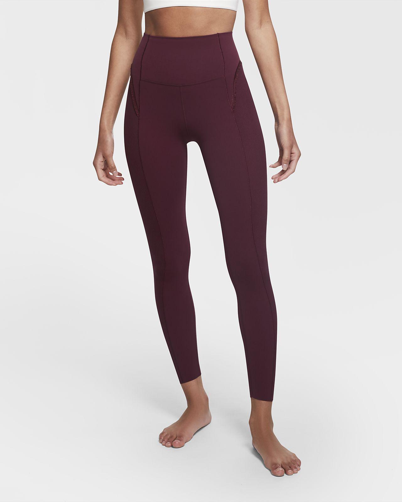 Legging 7/8 Infinalon à volants Nike Yoga Luxe pour Femme