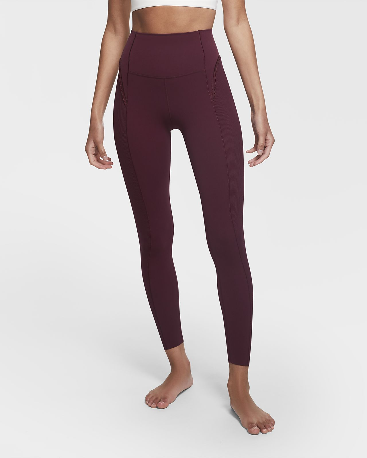 Nike Yoga Luxe Women's Infinalon Ruffled 7/8 Leggings