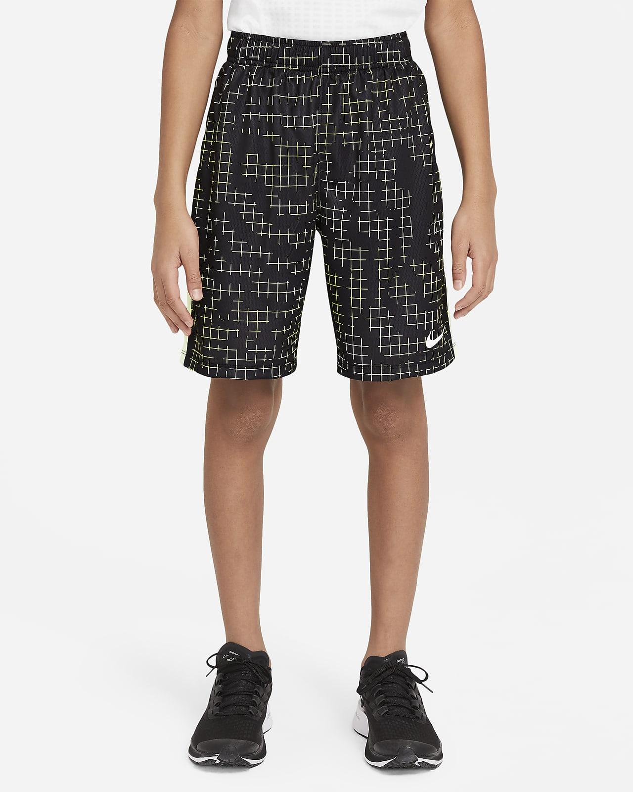 Εμπριμέ σορτς προπόνησης Nike Dri-FIT για μεγάλα αγόρια