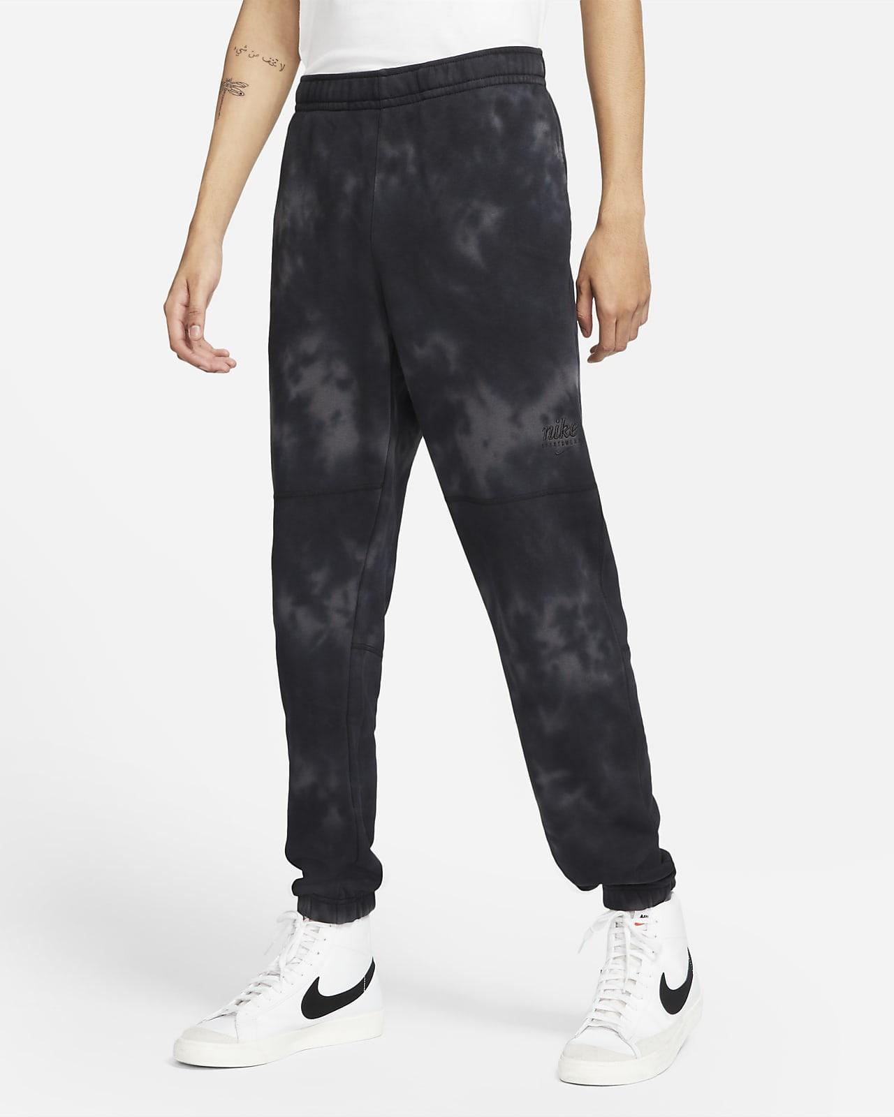Pantalones de felpa francesa teñidos para hombre Nike Sportswear Club