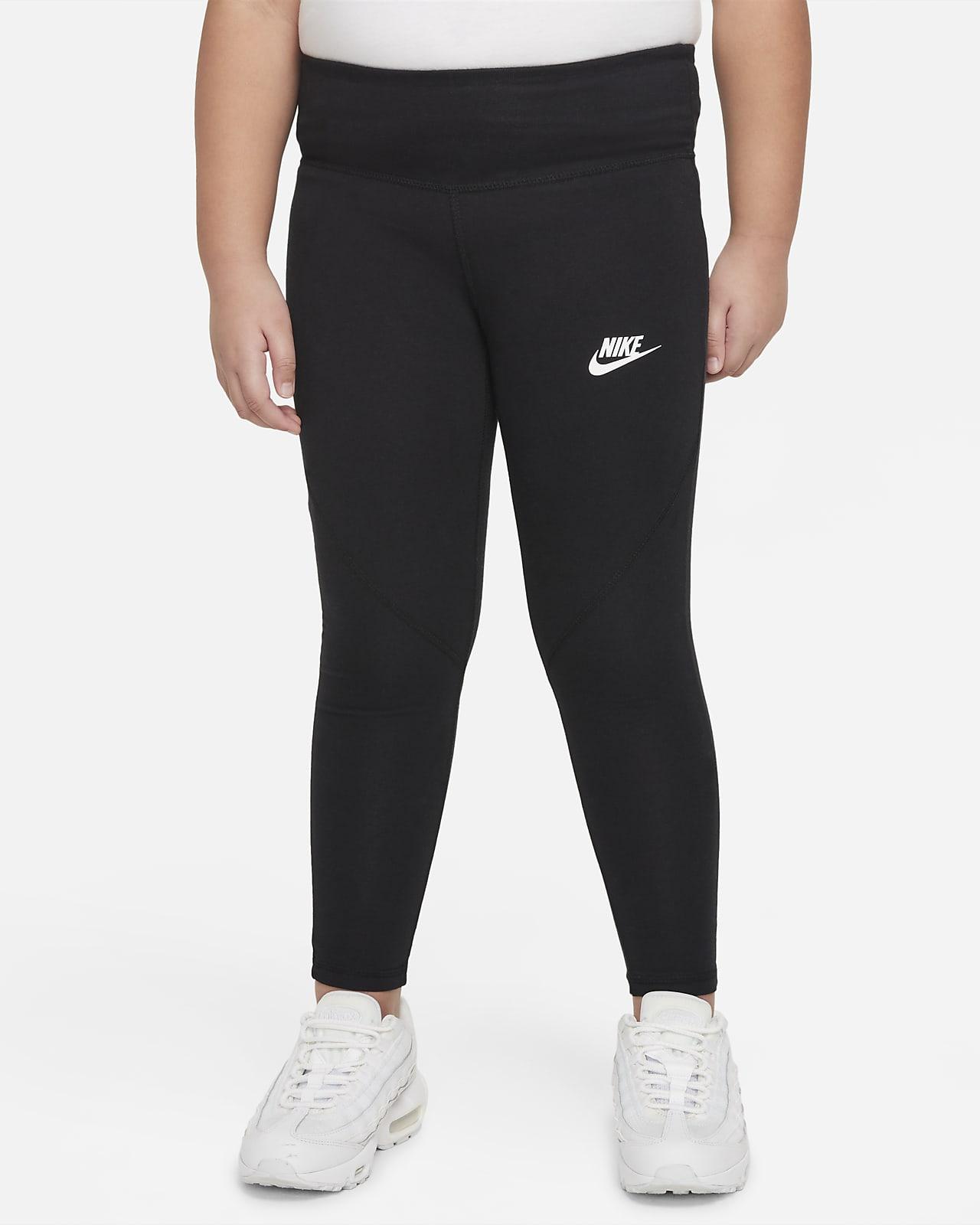 Nike Sportswear Favorites leggings med høyt liv til store barn (jente) (utvidet størrelse)