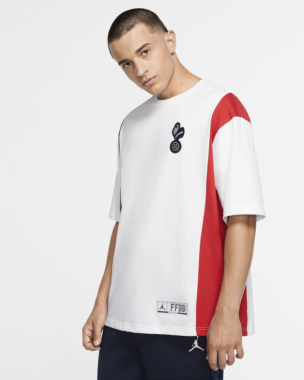 Frankreich x Jordan Kurzarm-T-Shirt für Herren
