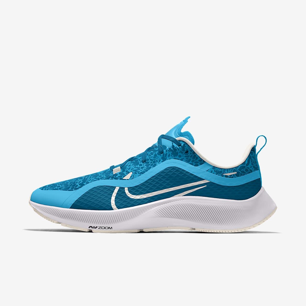 Nike Air Zoom Pegasus 37 Shield By You 專屬訂製跑鞋