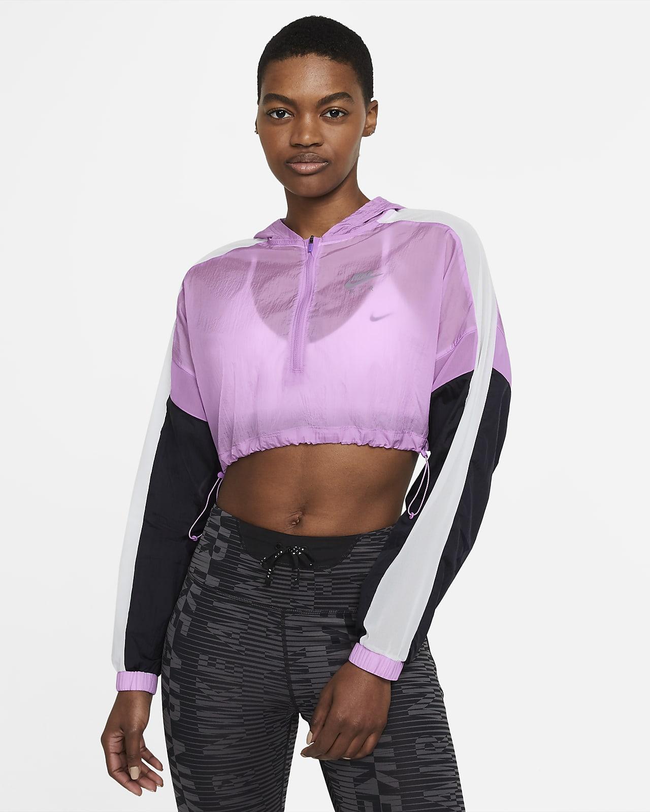 Giacca corta da running Nike Air - Donna