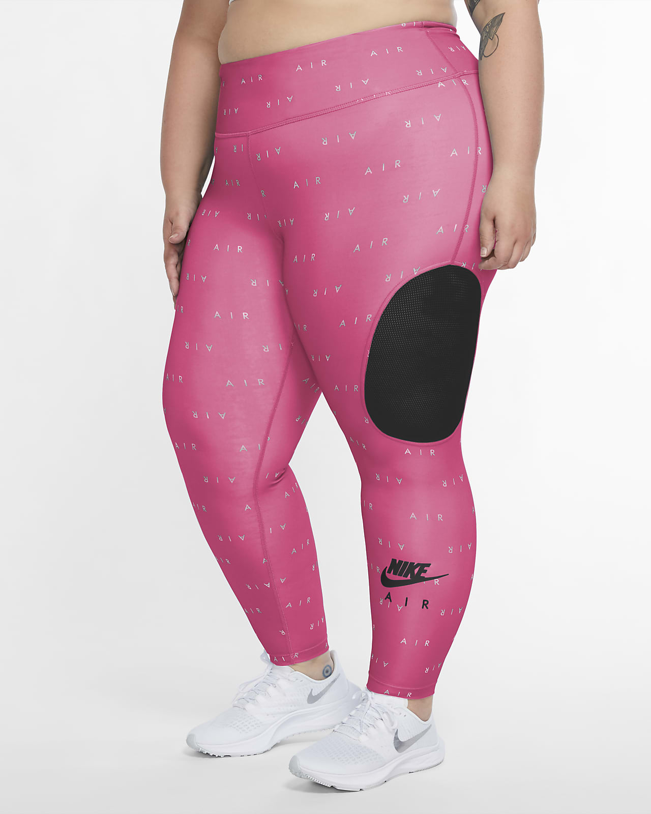 Nike Air Women's 7/8 Running Tights (Plus Size)