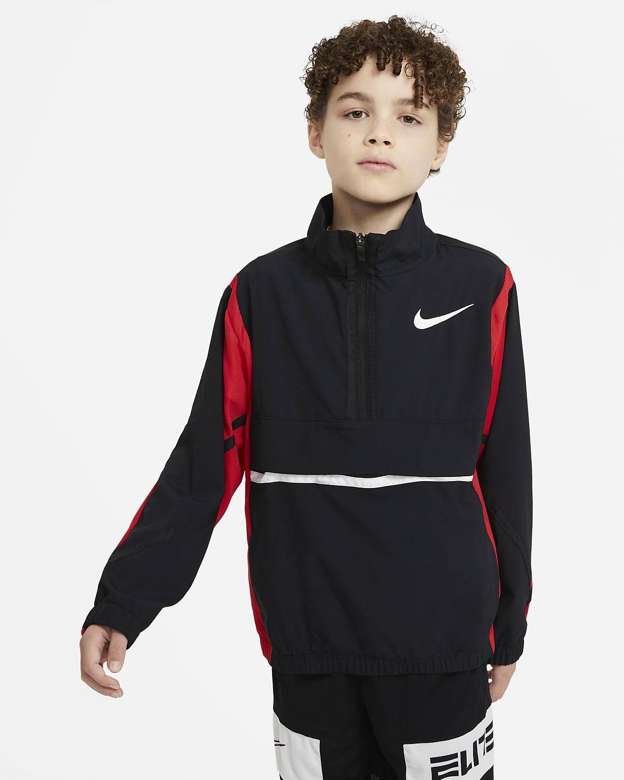 เสื้อแจ็คเก็ตบาสเก็ตบอลเด็กโต Nike Crossover (ชาย)