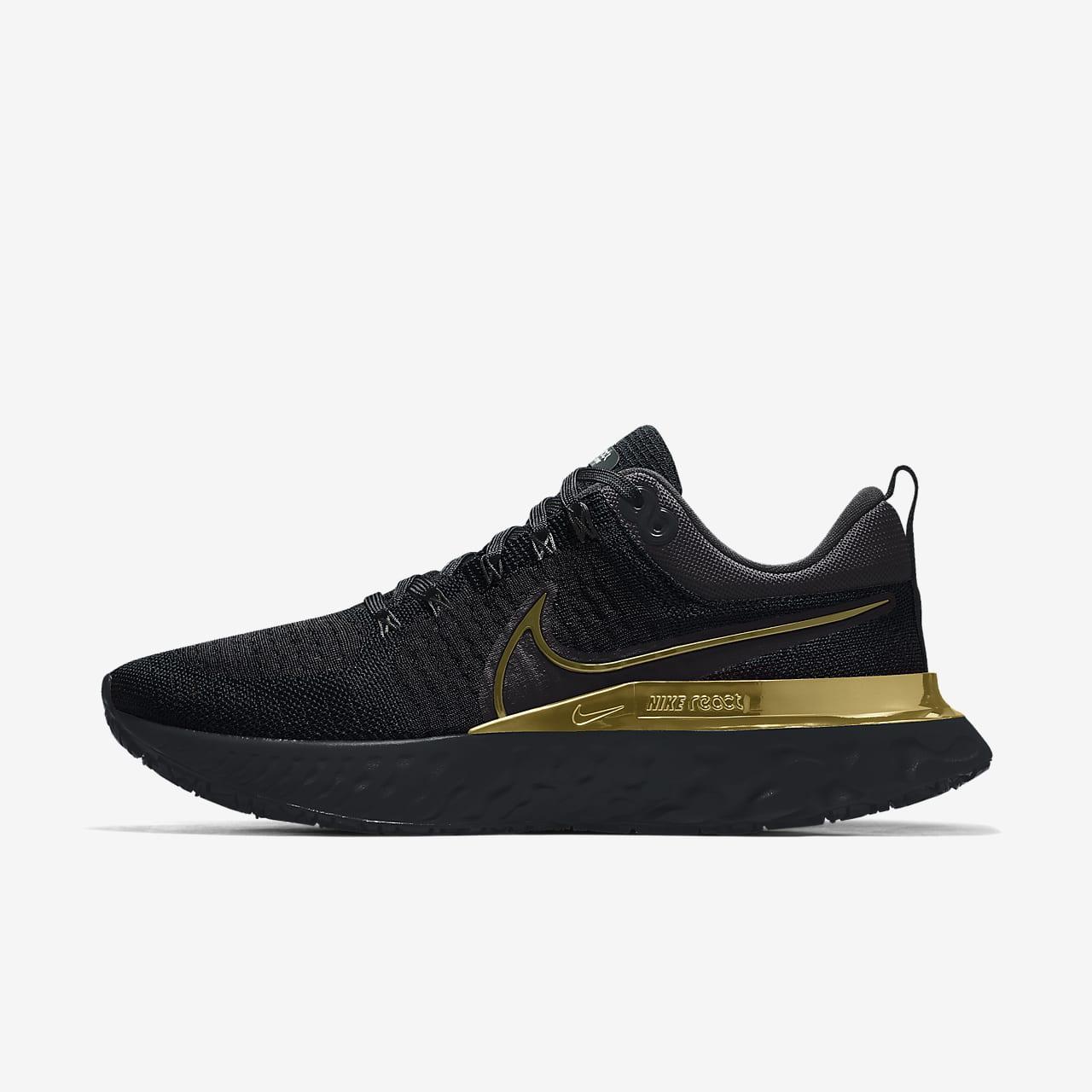 Nike React Infinity Run Flyknit 2 By You Custom Men's Running Shoe