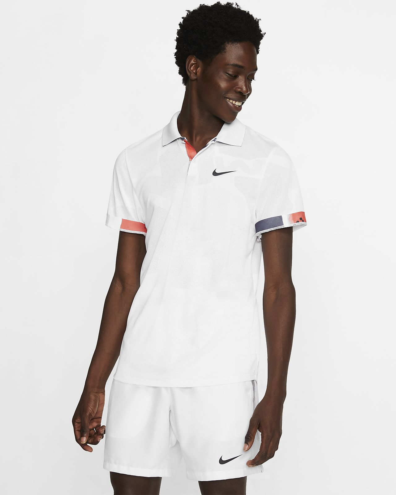 NikeCourt Breathe Advantage Men's Tennis Polo