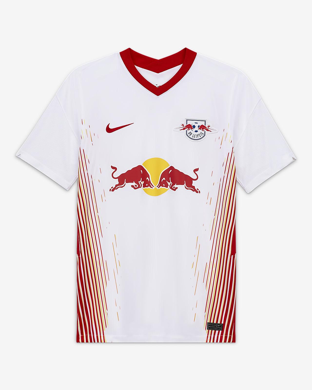 RB Leipzig 2020/21 Stadium Home Fußballshirt für Herren