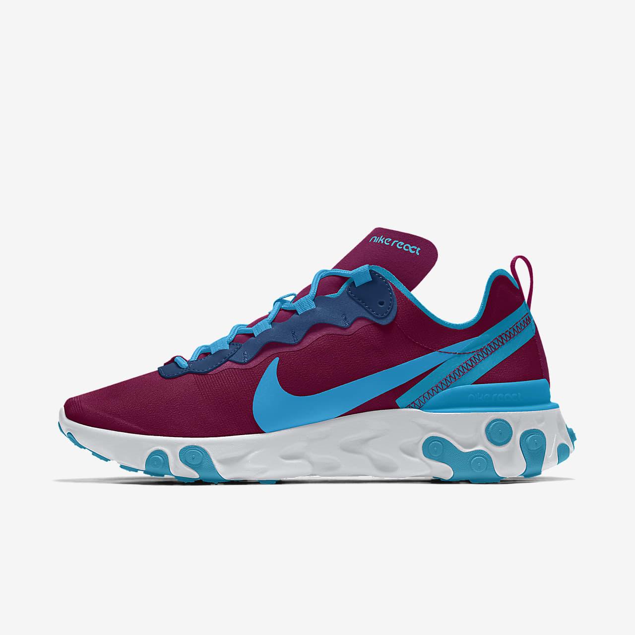 Męskie personalizowane buty lifestylowe Nike React Element 55 By You