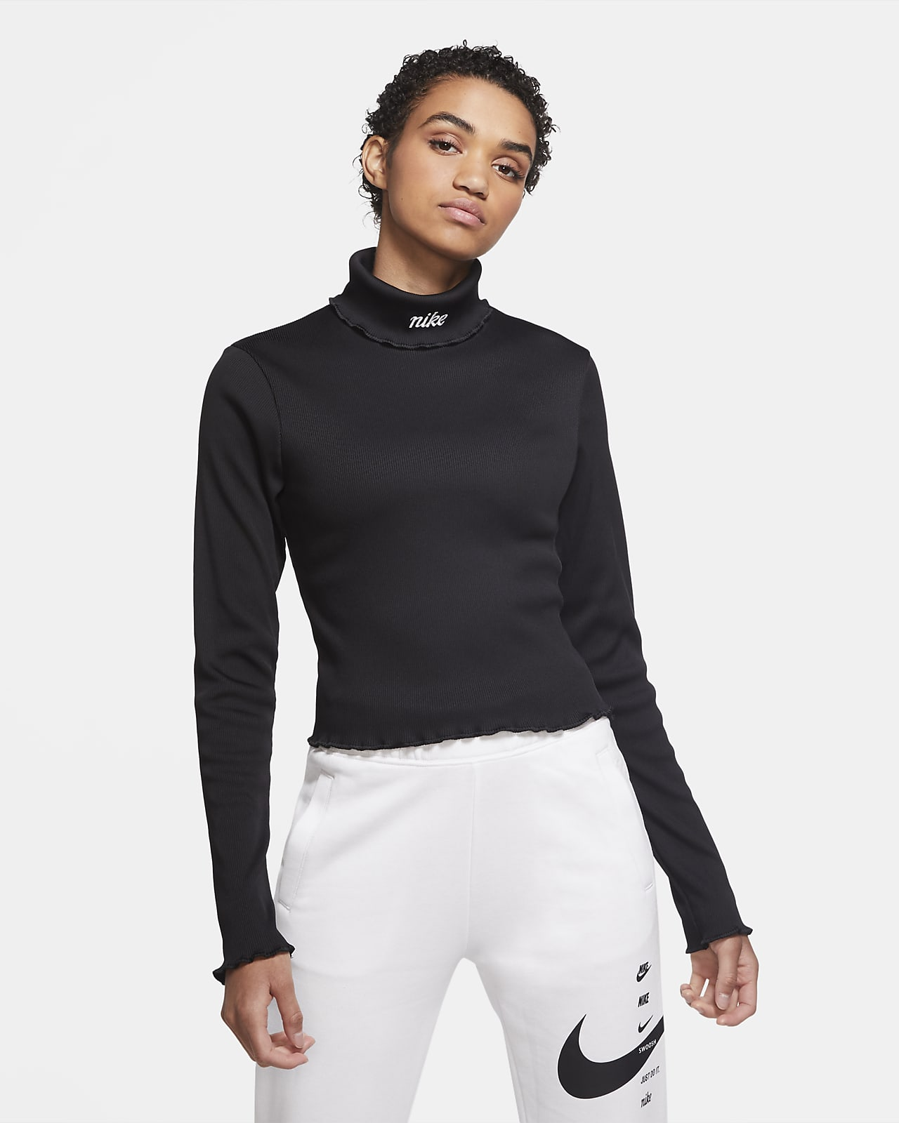 Nike Sportswear Ribbed 女子长袖上衣