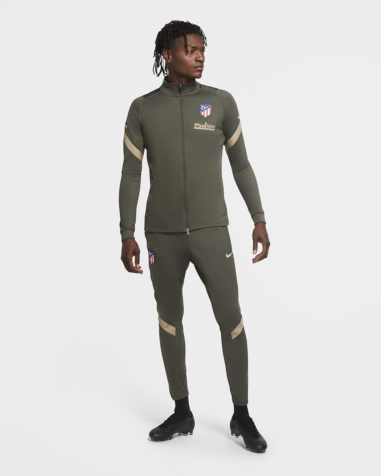 Conjunto de entrenamiento de fútbol tejido para hombre del Atlético de Madrid Strike