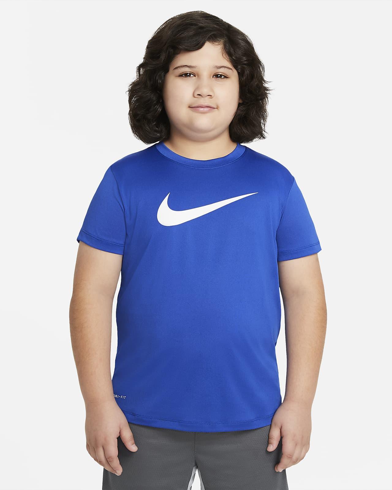 Nike Dri-FIT Big Kids' (Boys') Training T-Shirt (Extended Size)