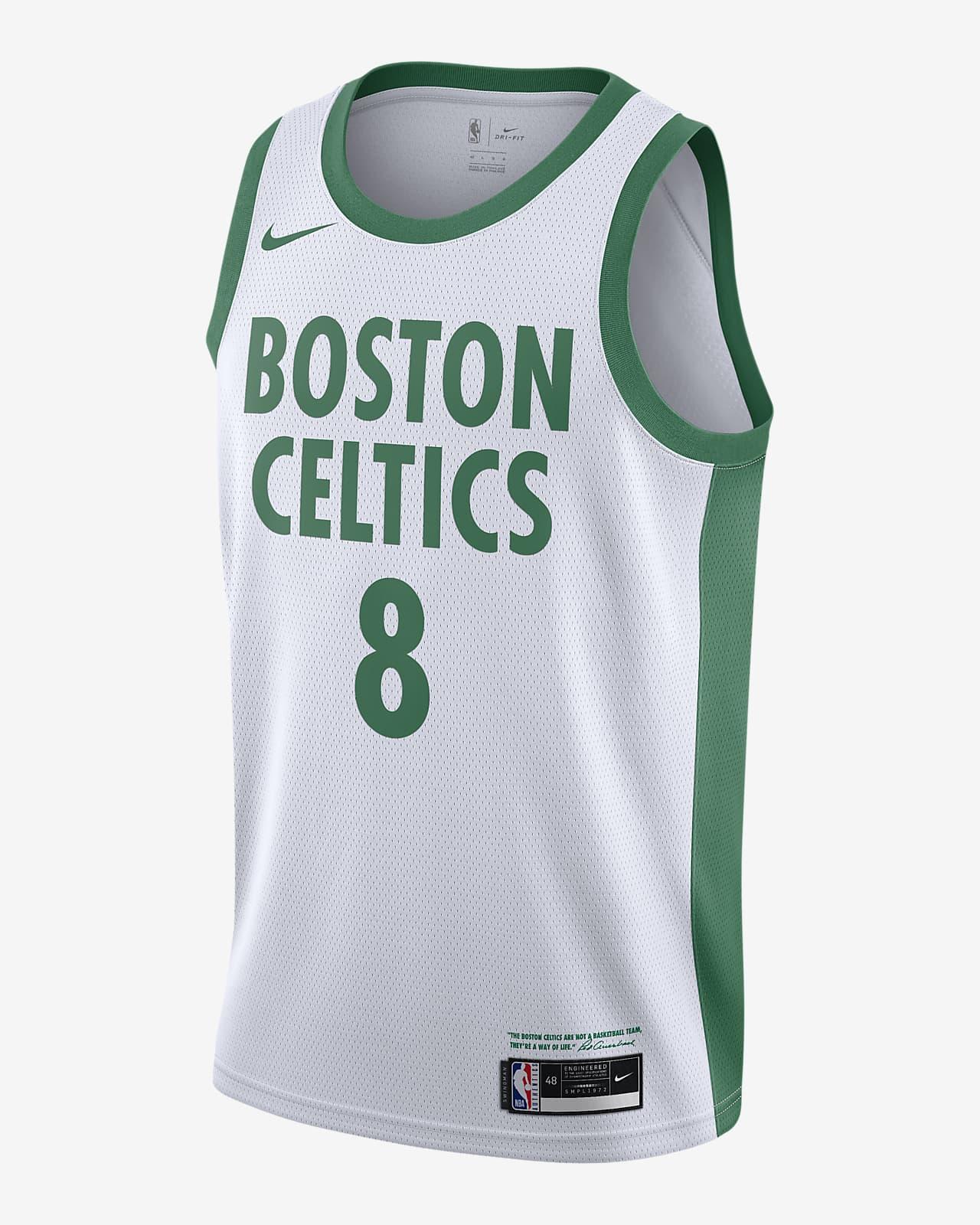 Kemba Walker Boston Celtics City Edition Nike NBA Swingman Trikot