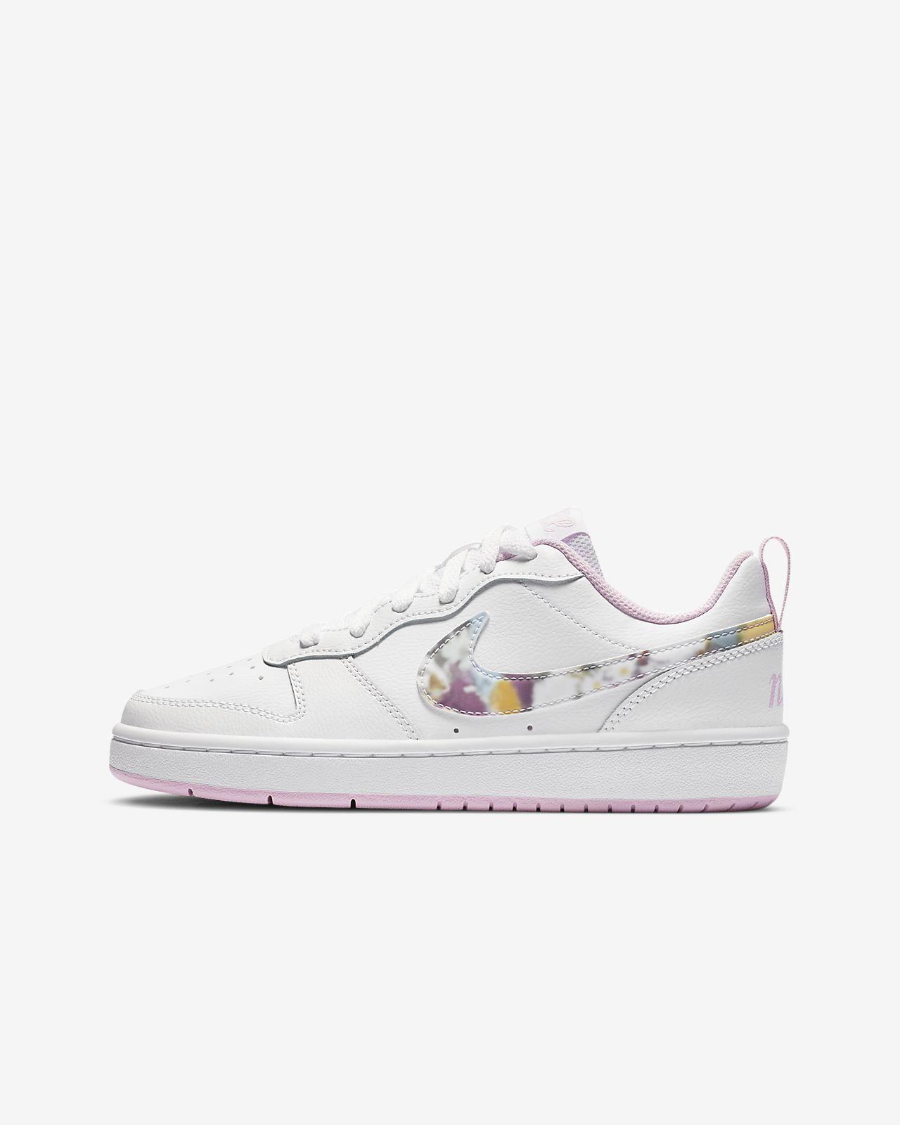 Nike Court Borough Low 2 SE (GS) 大童运动童鞋