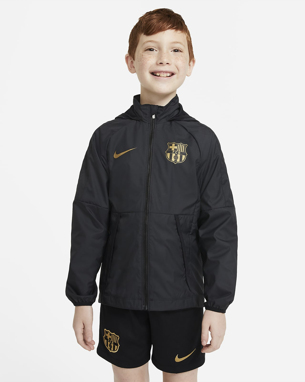 Veste de football FC Barcelona pour Enfant plus âgé