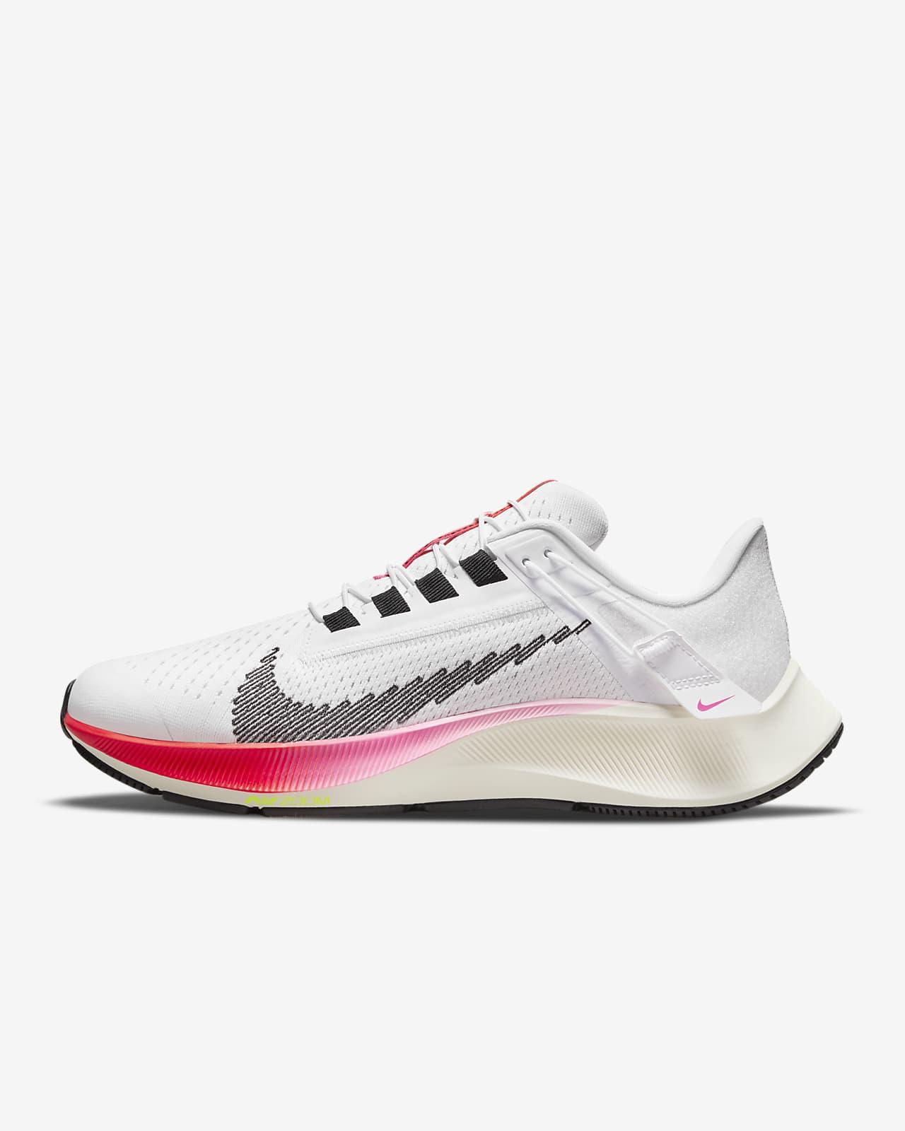 Nike Air Zoom Pegasus 38 FlyEase Eenvoudig aan en uit te trekken hardloopschoen voor dames