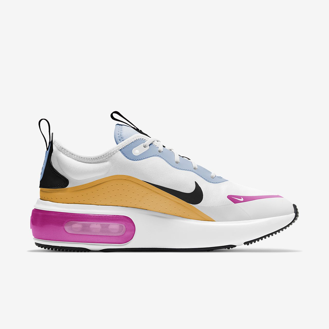 nike air max 270 blanco y azul