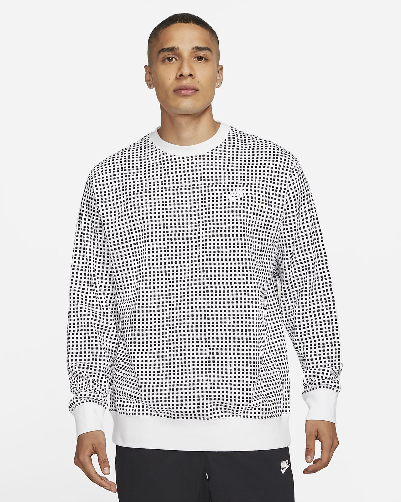 Nike Sportswear Club Men's Sweatshirt French Terry Crew