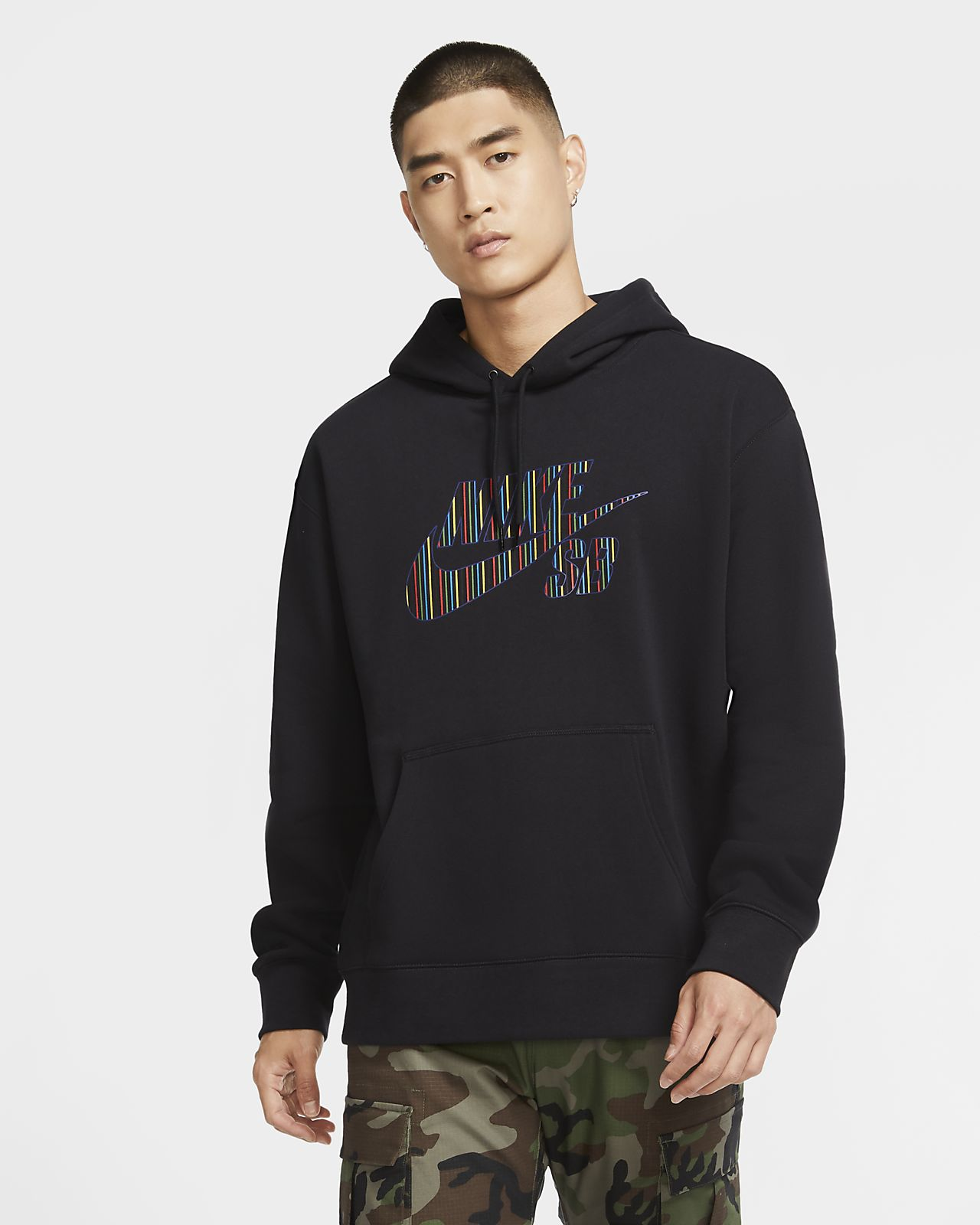 Nike SB Men's Striped Skate Hoodie