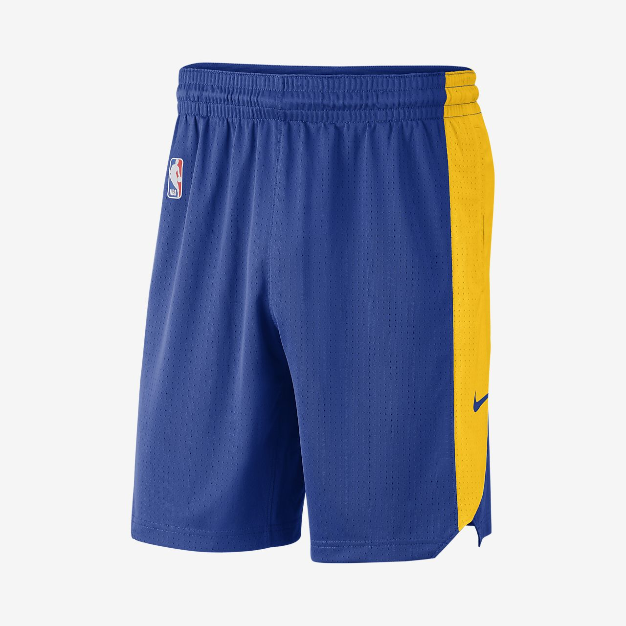 Shorts de práctica de la NBA para hombre Golden State Warriors Nike