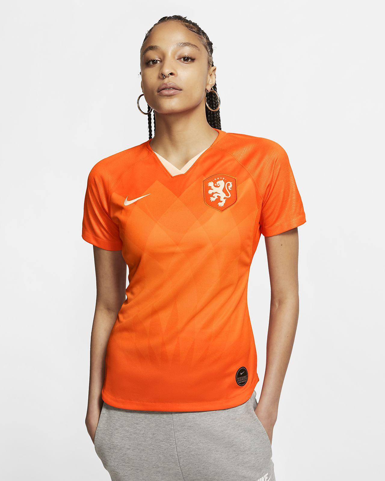 Maillot de football Netherlands 2019 Stadium Home pour Femme
