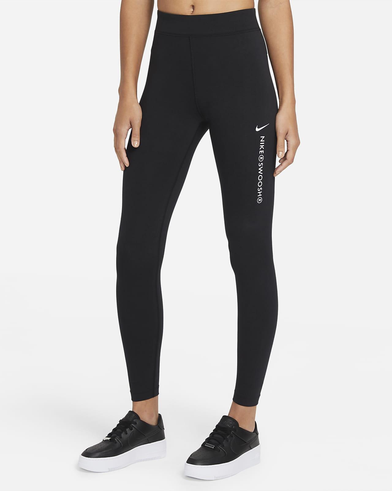 Leggings de cintura subida Nike Sportswear Swoosh para mulher