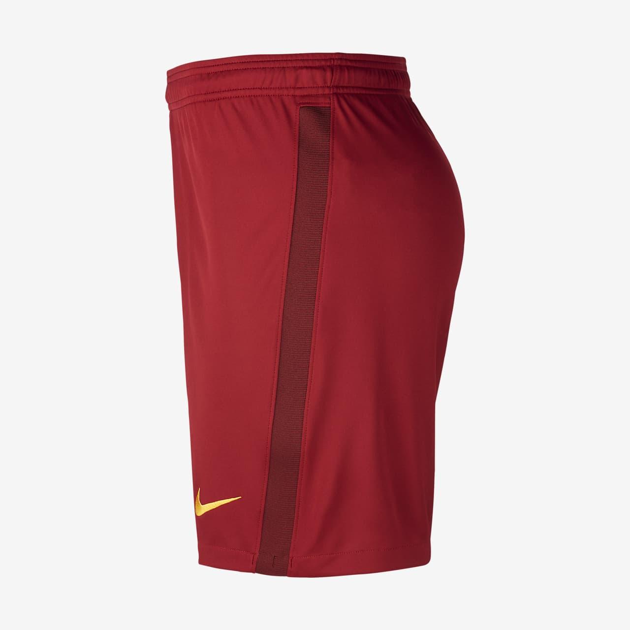A.S. Roma 202021 Stadium Home Men's Football Shorts. Nike NO