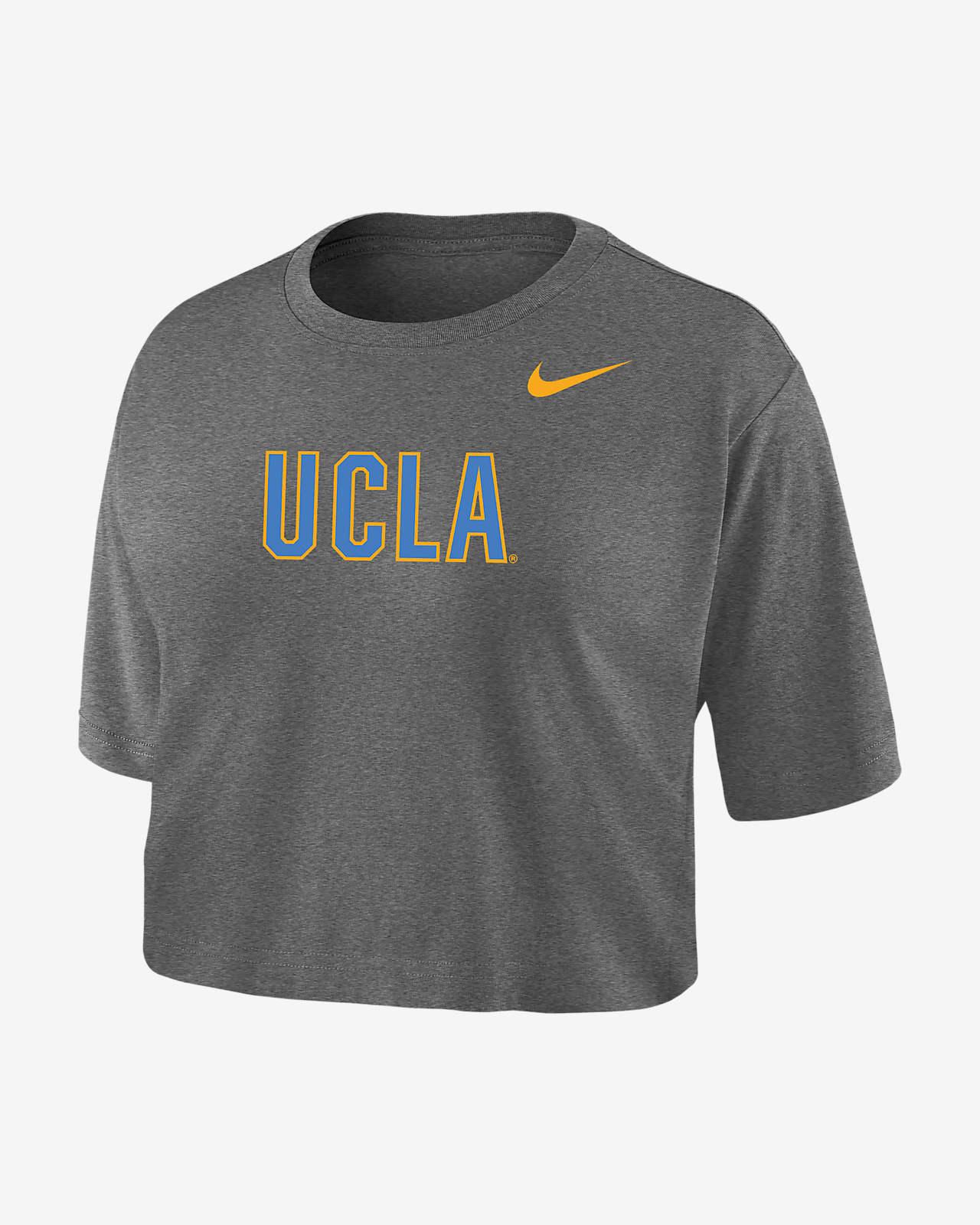 Nike College Dri-FIT (UCLA) Women's Crop T-Shirt