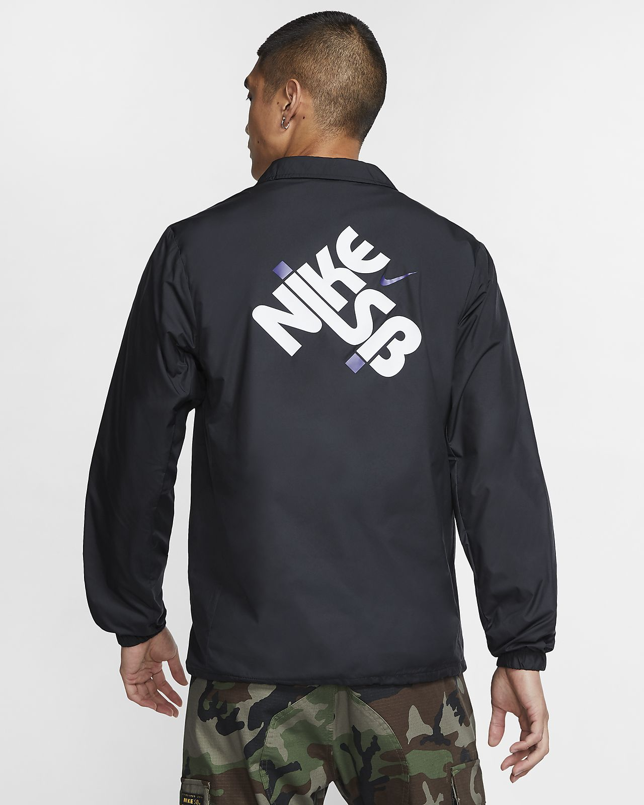 Chaqueta Nike SB Shield Camo