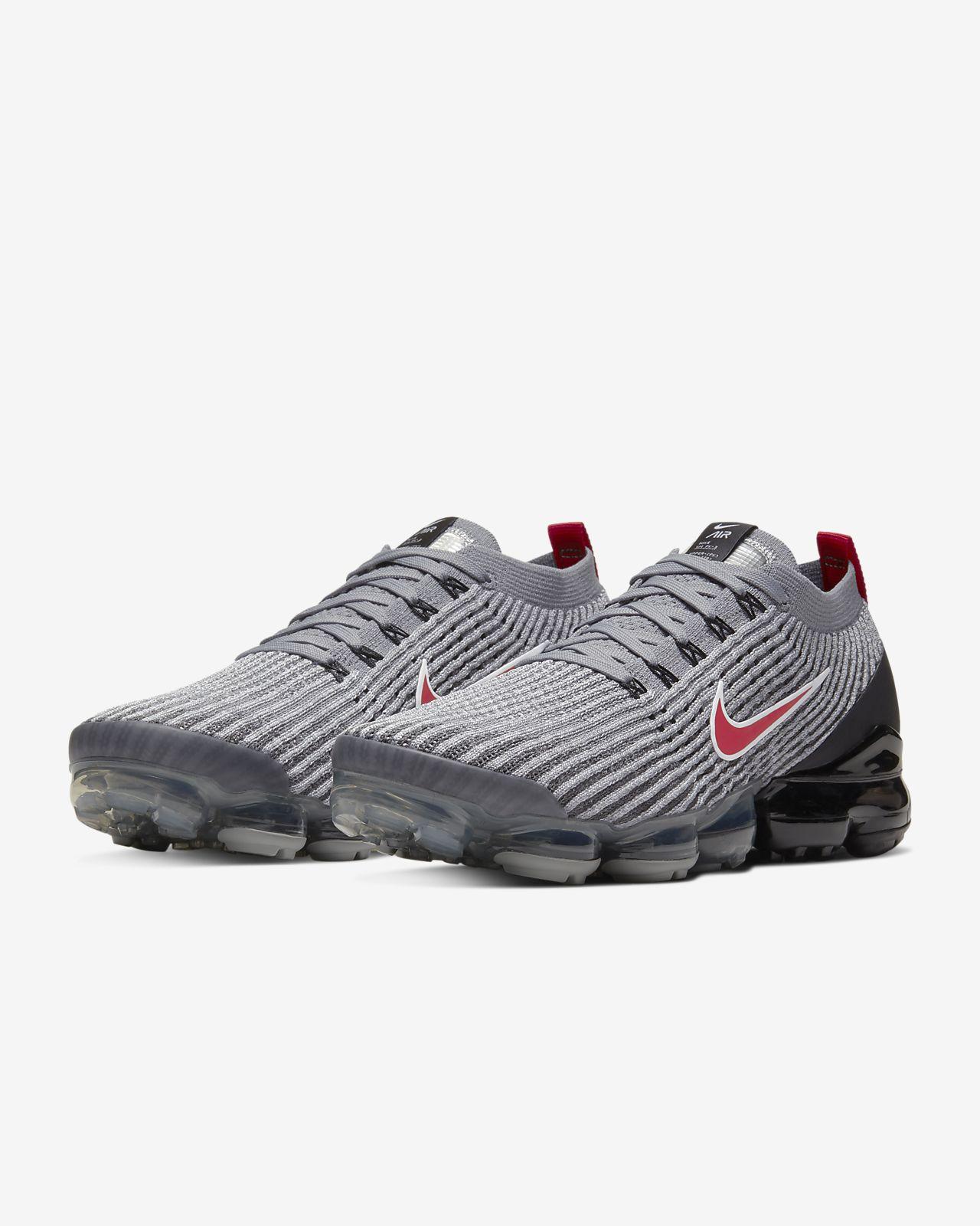 nike air vapormax flyknit 3 men's shoe white