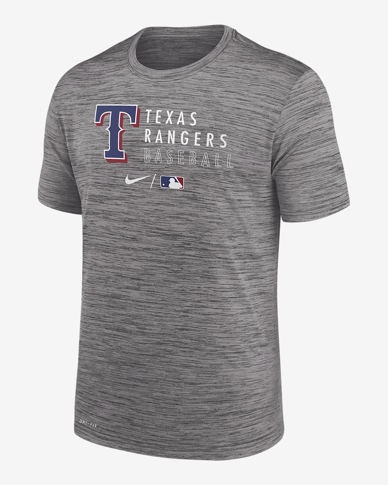Nike Dri-FIT Velocity Practice (MLB Texas Rangers) Men's T-Shirt