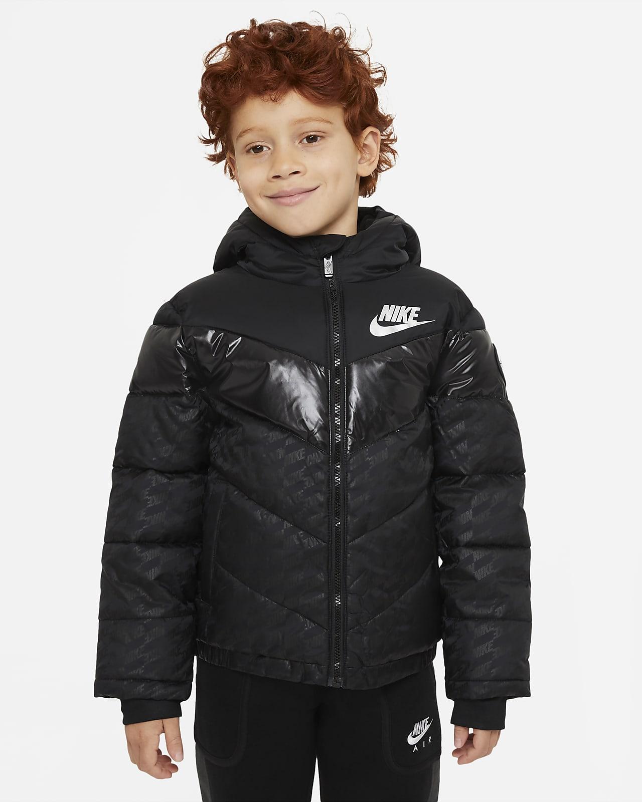Nike Little Kids' Color-Block Puffer Jacket