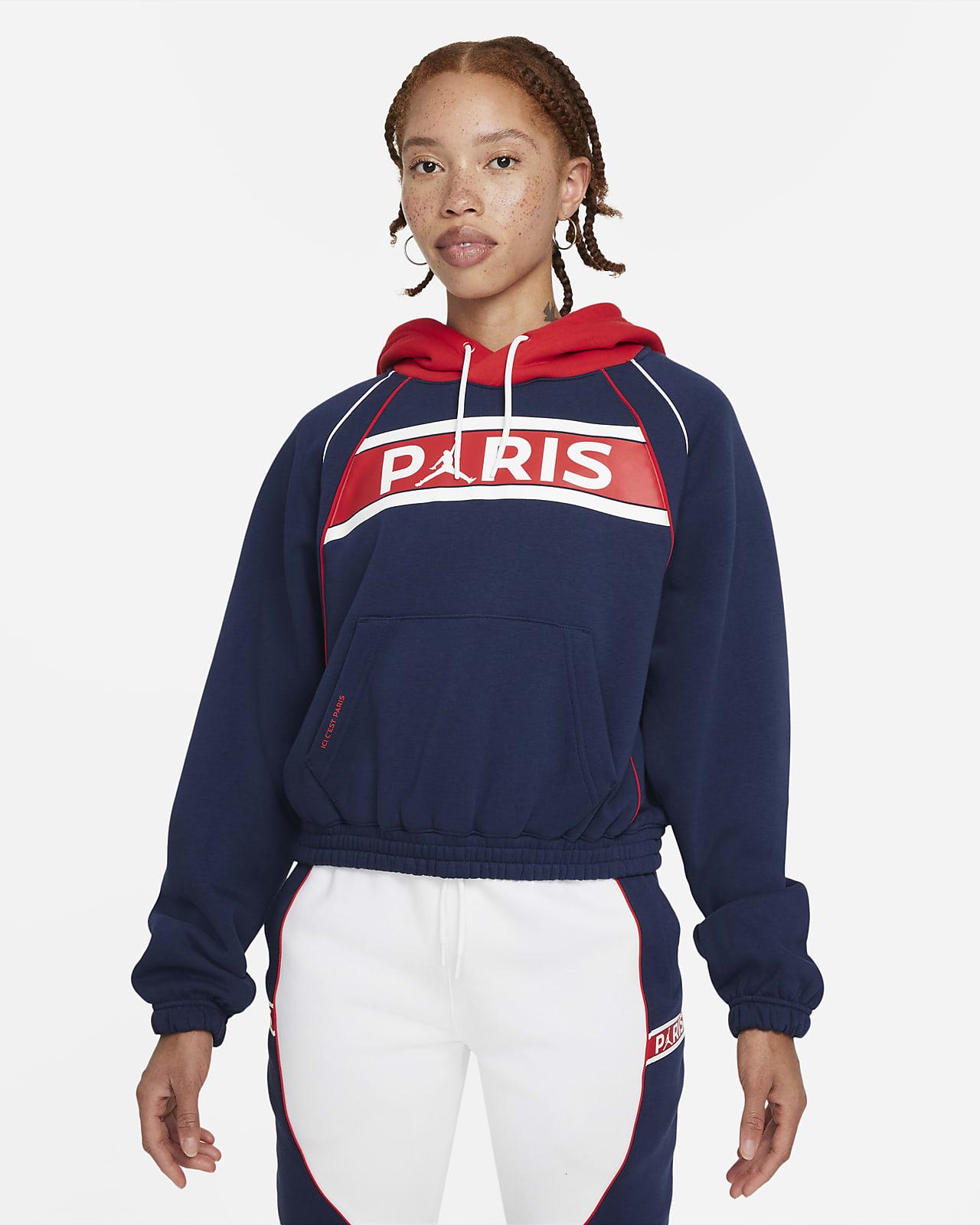 Женская флисовая худи Paris Saint-Germain