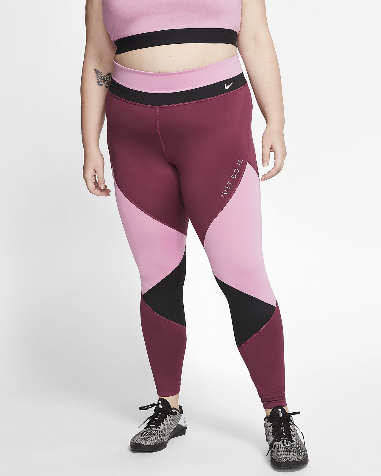 Nike One-tights til kvinder (plusstørrelse)