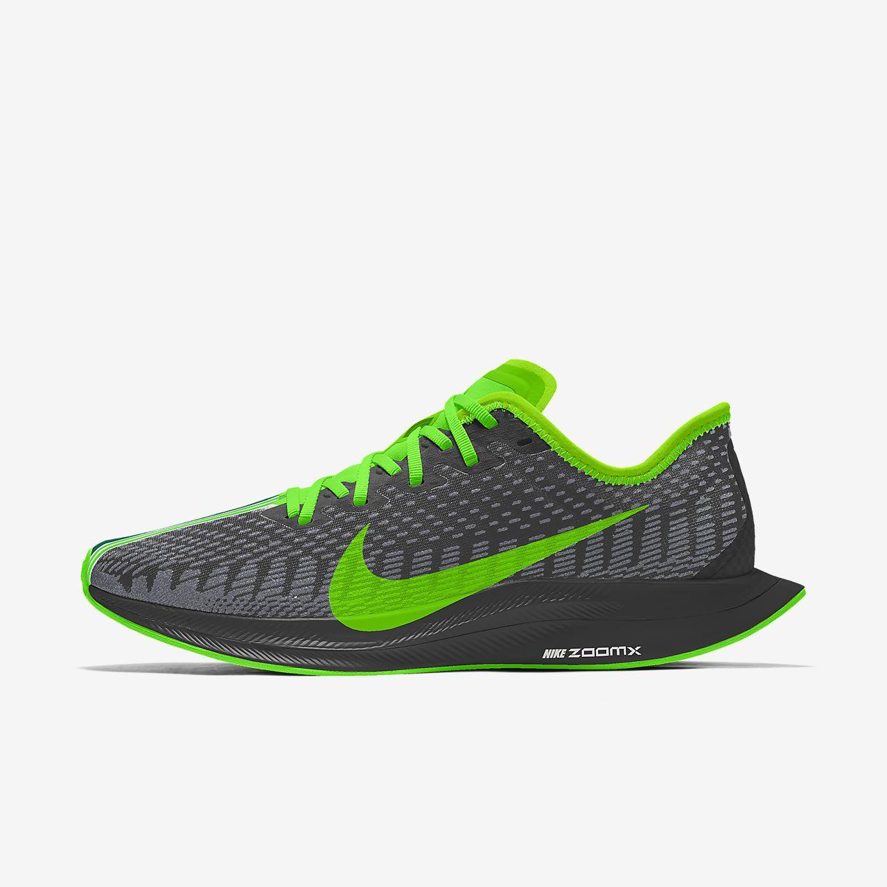 รองเท้าวิ่งผู้ชายออกแบบเอง Nike Zoom Pegasus Turbo 2 Premium By You