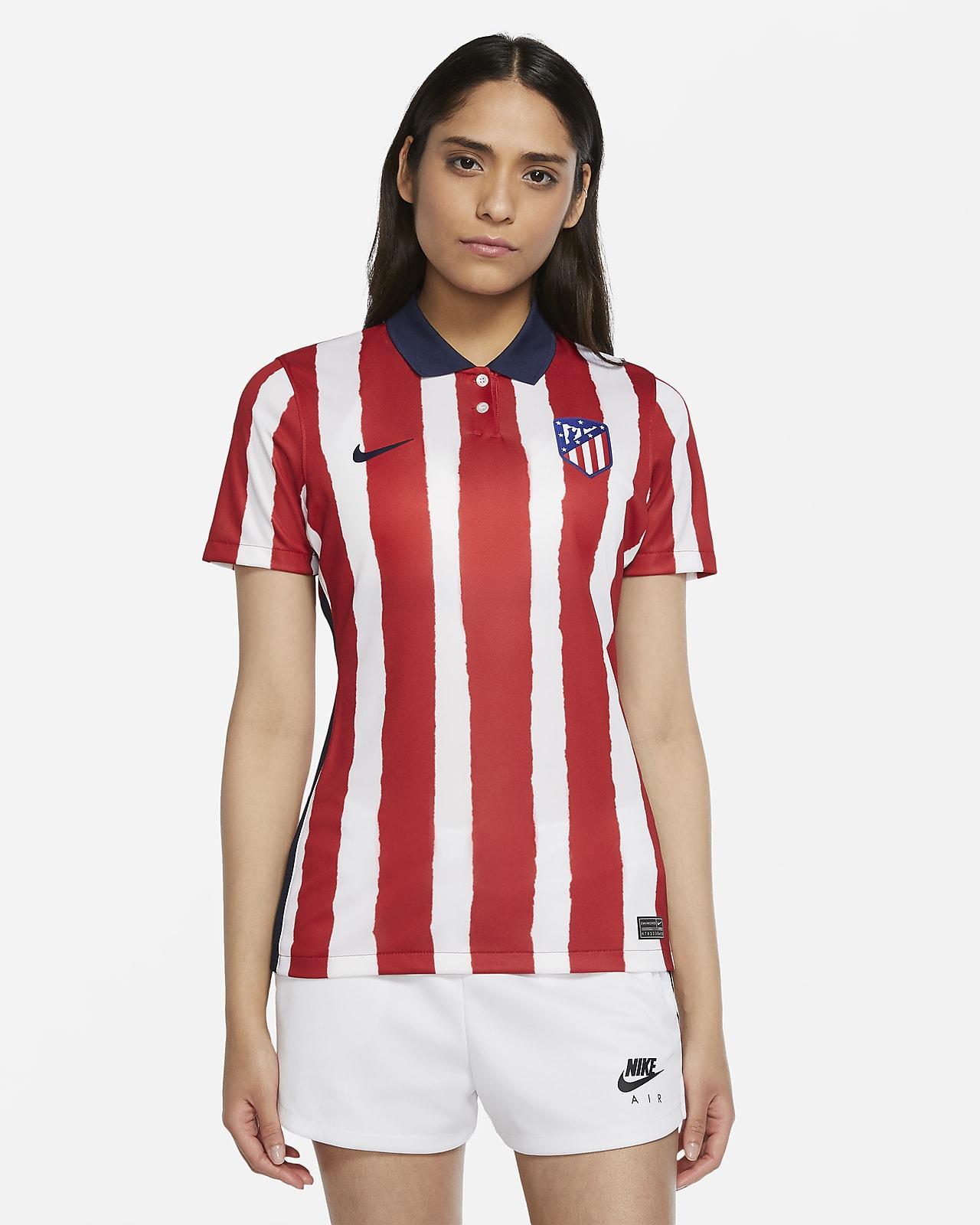 Женское футбольное джерси из домашней формы ФК «Атлетико Мадрид» 2020/21 Stadium