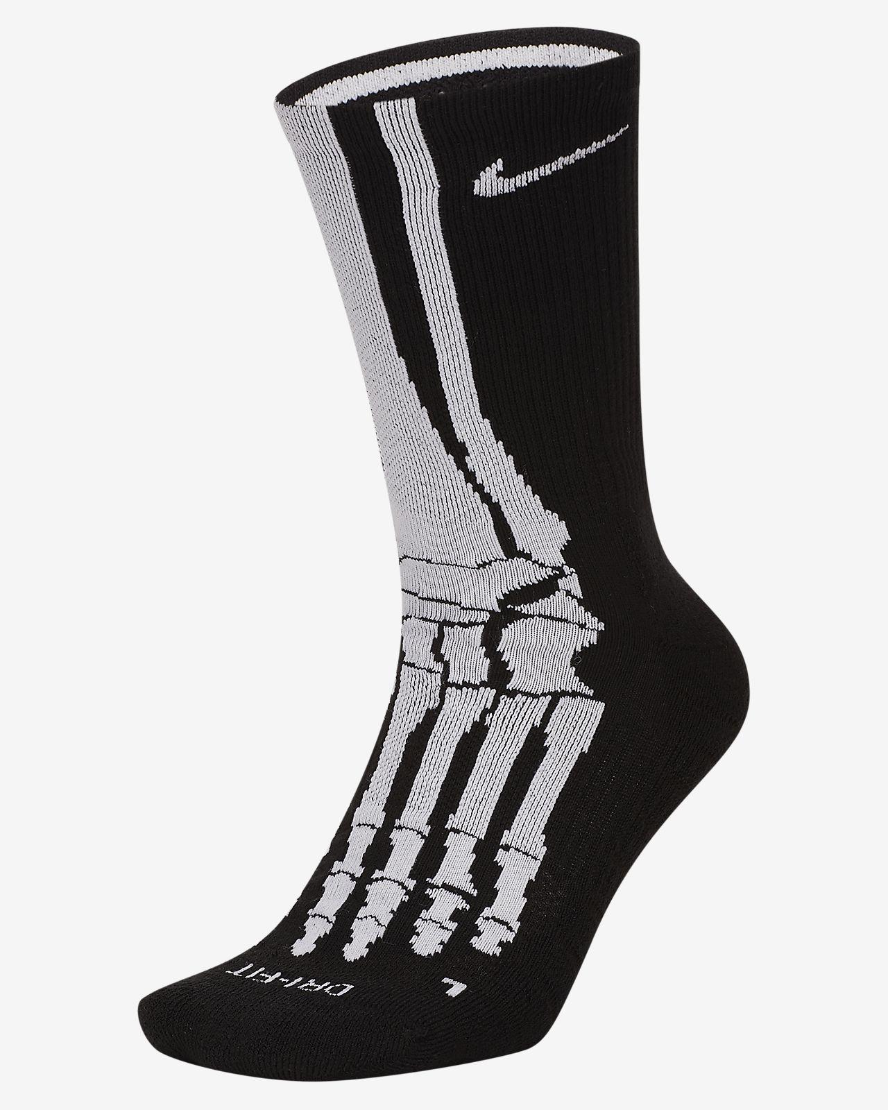 Nike Everyday Plus Skeleton Training Crew Socks
