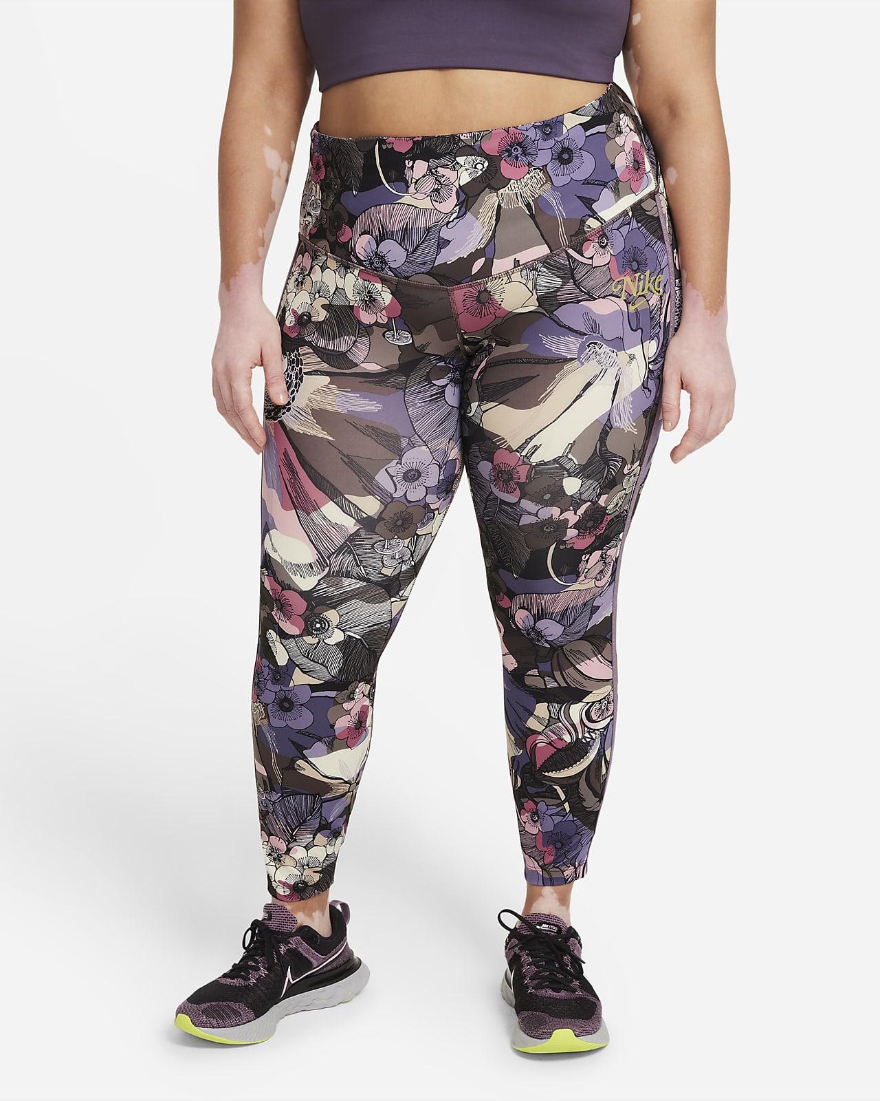 Nike Epic Fast Femme Normal Belli 7/8 Kadın Koşu Taytı (Büyük Beden)