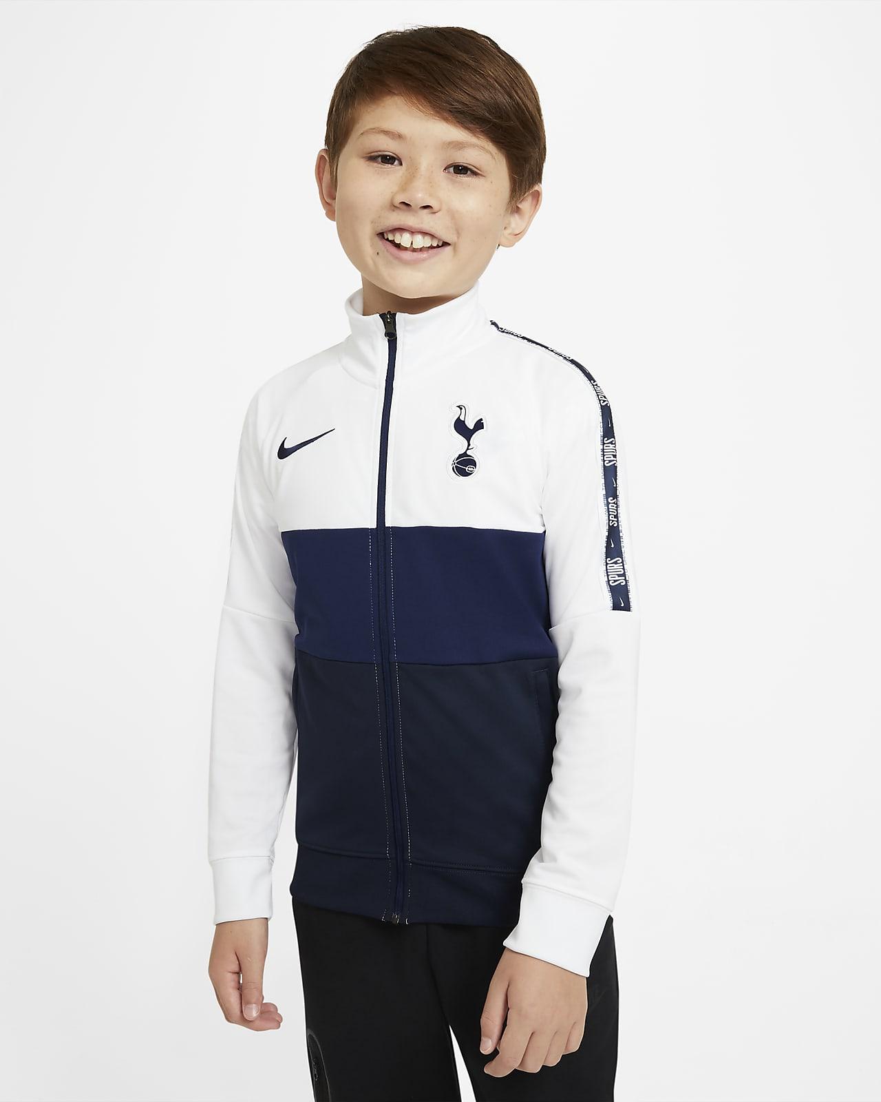 Tottenham Hotspur-fodboldtræningsjakke til store børn