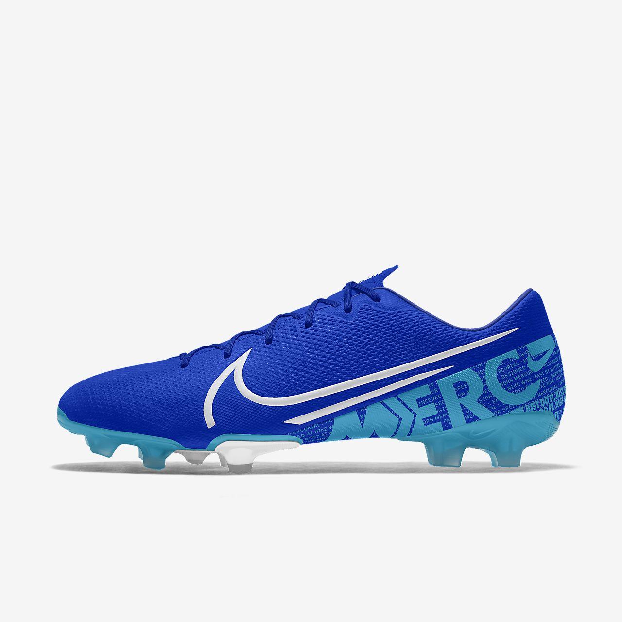Nike Mercurial Vapor 13 Academy FG By You Botes de futbol personalitzables per a terreny ferm