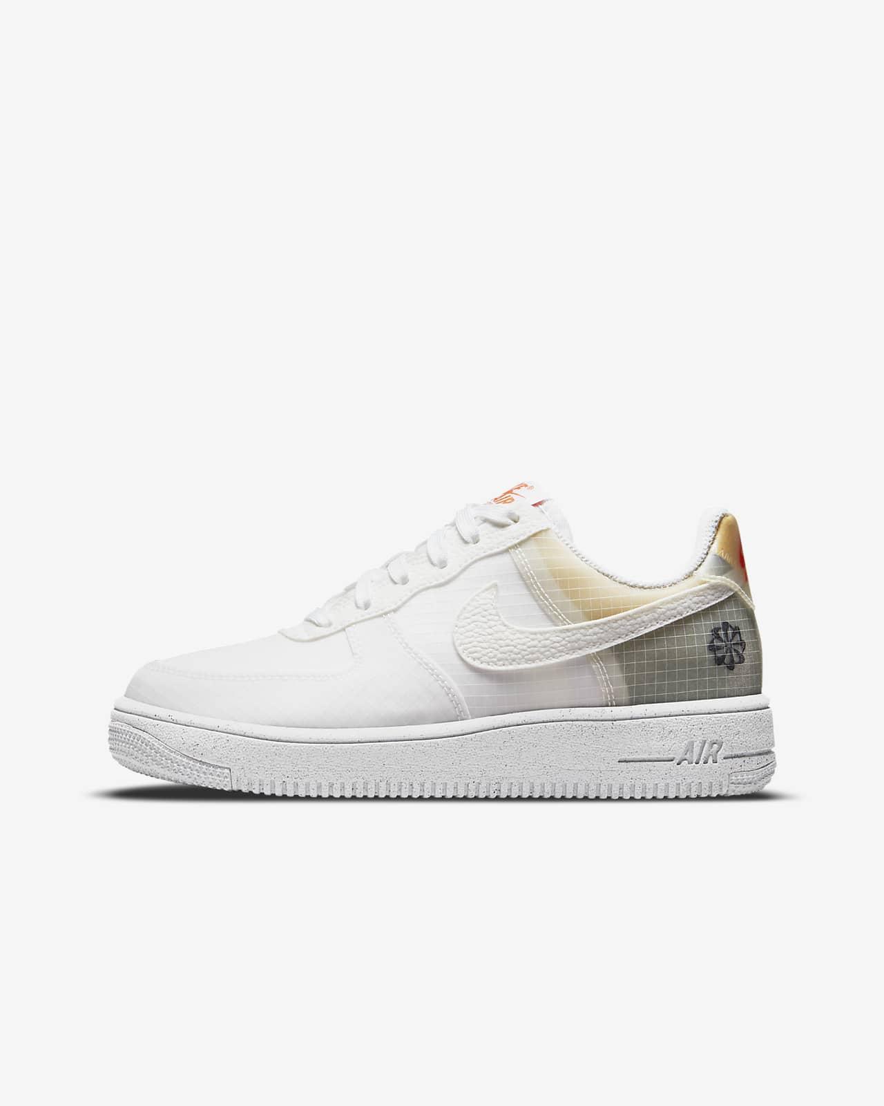 Nike Air Force 1 Crater sko til store barn