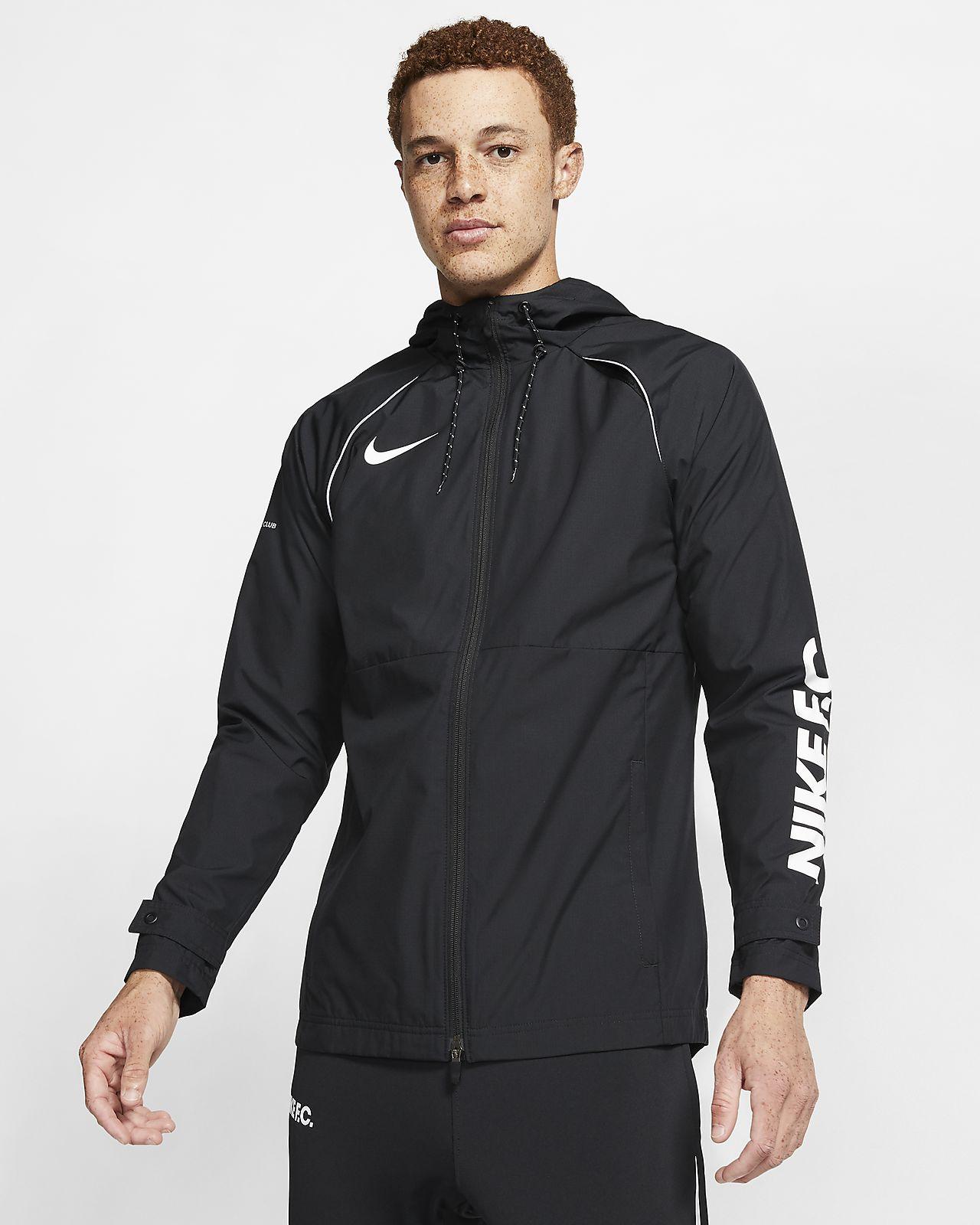 Nike F.C. All Weather Fan Herren-Fußballjacke