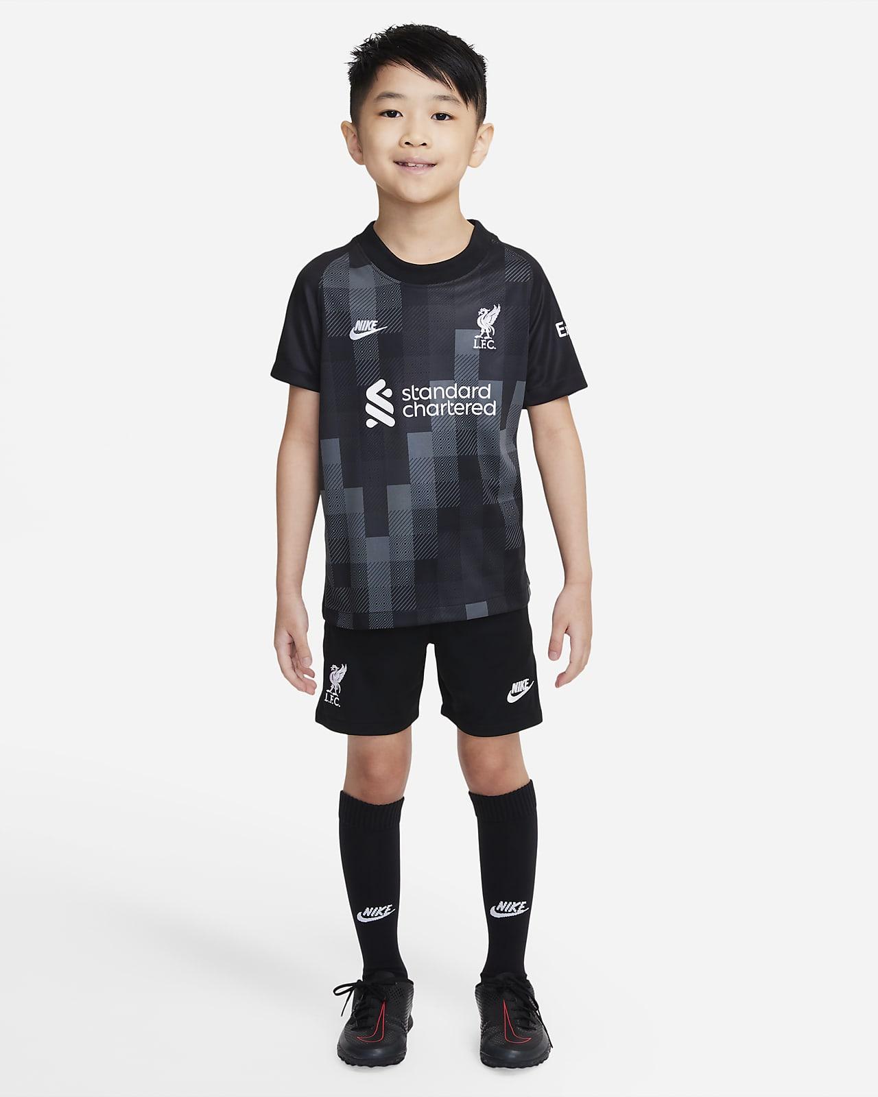 Tenue de football Liverpool FC2021/22 Gardien de but pour Jeune enfant
